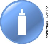 baby bottle button | Shutterstock .eps vector #4644472