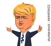 august 6  2016  character... | Shutterstock .eps vector #464493422