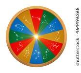 3d illustration of  horoscopes... | Shutterstock . vector #464496368