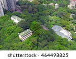 hong kong park  located in the... | Shutterstock . vector #464498825