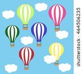 balloon | Shutterstock .eps vector #464506235