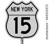 a 3d rendering of a highway... | Shutterstock . vector #464522372
