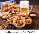 oktoberfest salted soft... | Shutterstock . vector #464527616