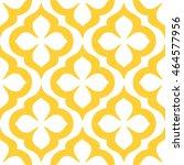 abstract flower pattern... | Shutterstock .eps vector #464577956