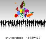business people | Shutterstock .eps vector #46459417