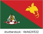 east sepik flag | Shutterstock .eps vector #464624522