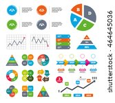 data pie chart and graphs....   Shutterstock .eps vector #464645036