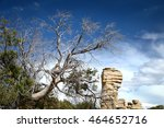 rock formation on the way to... | Shutterstock . vector #464652716