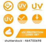 uv protection logo   7... | Shutterstock .eps vector #464700698