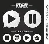 crumpled paper speech bubble....