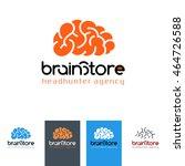 brain store   logo for...   Shutterstock .eps vector #464726588