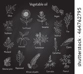 vector collection of different... | Shutterstock .eps vector #464762795