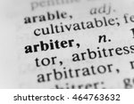 Small photo of Arbiter