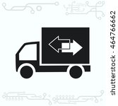 delivery sign icon  vector... | Shutterstock .eps vector #464766662