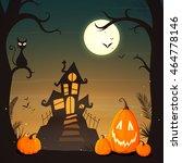 vector illustration of a... | Shutterstock .eps vector #464778146