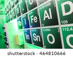 Small photo of Green periodical table