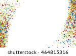 white festive background with... | Shutterstock .eps vector #464815316