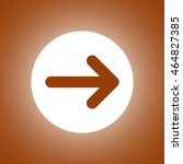 vector icon arrow. flat design...