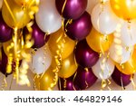 Colourful Balloons  Golden ...