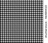 pattern black picnic | Shutterstock .eps vector #46484410
