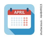 calendar icon vector isolated ...