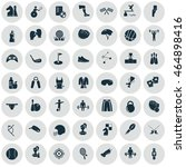 set of forty nine sport icons | Shutterstock .eps vector #464898416