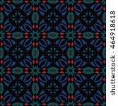 the geometric texture. boho... | Shutterstock .eps vector #464918618