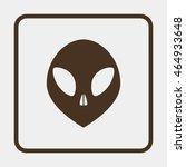 alien head icon. | Shutterstock .eps vector #464933648