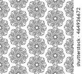 seamless creative hand drawn... | Shutterstock .eps vector #464936672