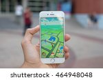 """pokemon go"" game application... 