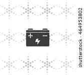 car battery icon. | Shutterstock .eps vector #464953802
