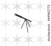 telescope icon.
