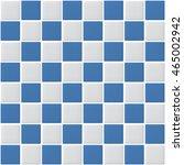 white and blue tiles vector... | Shutterstock .eps vector #465002942