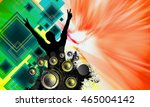 concert  disco party.  | Shutterstock . vector #465004142