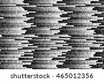 design element. glitch vector... | Shutterstock .eps vector #465012356