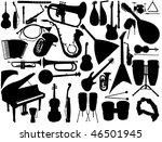 vector collection of isolated... | Shutterstock .eps vector #46501945