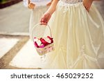 Little Bridesmaid With A Basket ...