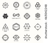 set of badges and labels... | Shutterstock .eps vector #465042248