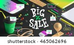 Big Sale Poster For Advertisin...