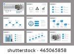 set of presentation template...