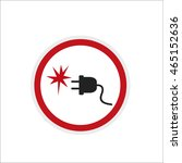 sign sticker outlet and an... | Shutterstock .eps vector #465152636