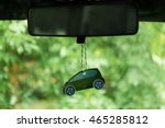 air freshener hanging in the... | Shutterstock . vector #465285812