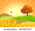 vector cartoon illustration of... | Shutterstock .eps vector #465287678