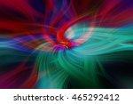 scarlet green purple colored... | Shutterstock . vector #465292412