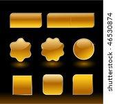 rich styled web menu | Shutterstock .eps vector #46530874