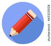 pencil icon | Shutterstock .eps vector #465325028