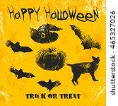Scary Halloween Bat  Pumpkin ...
