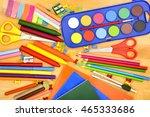 back to school  | Shutterstock . vector #465333686