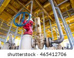 pipeline production and control ... | Shutterstock . vector #465412706
