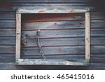 Weathered Rustic Closed Barn...